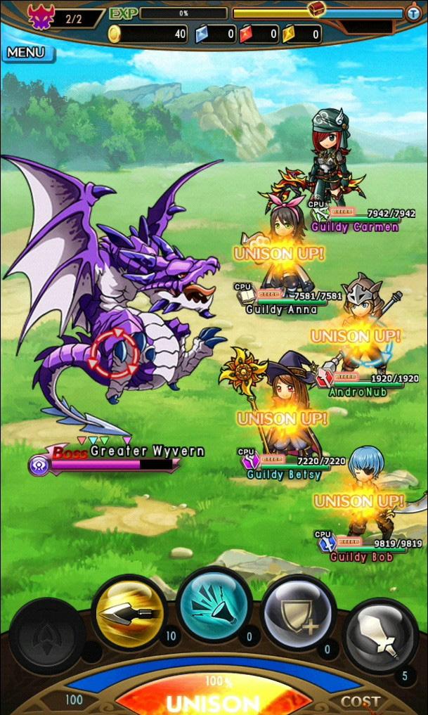 Group Quest Battle